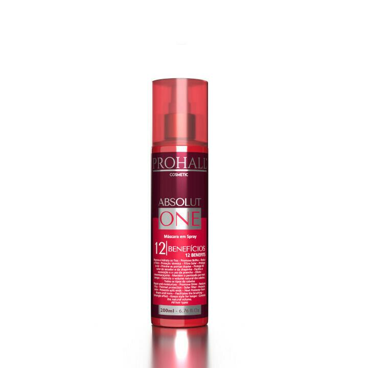 Prohall Absolut One Spray Mask 12x1 Benefits 200ml/6.76fl.oz