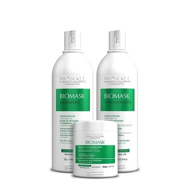 Prohall Biomask 33.8fl.oz Professional Ultra-Hydrating Kit