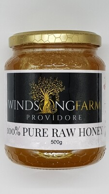 Honey 100% Pure Raw 500g Mixed Floral