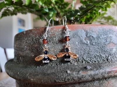 Earrings: Honey Bee
