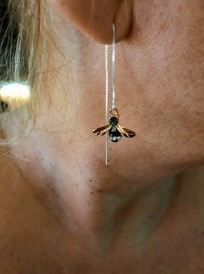 Earrings: Buzzy Bee
