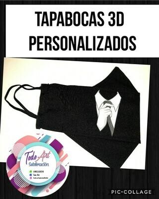 Tapabocas 3D