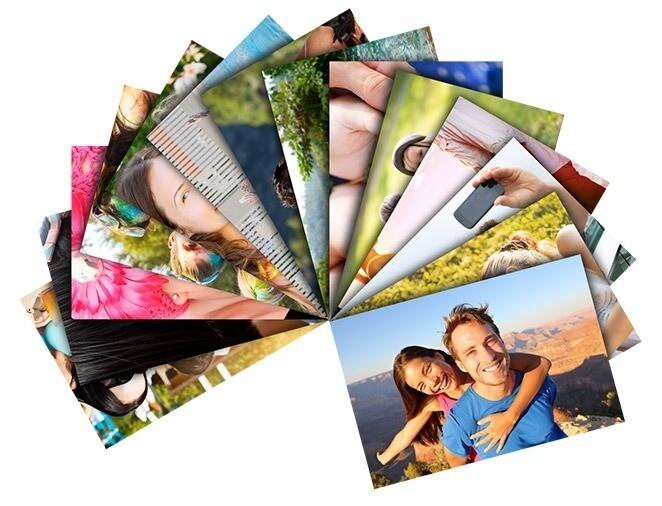 Impresión de fotos tamaño A4