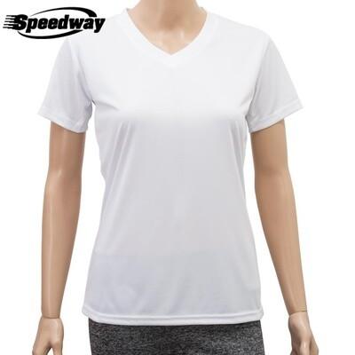 Camiseta Dama  Cuello V Drycool