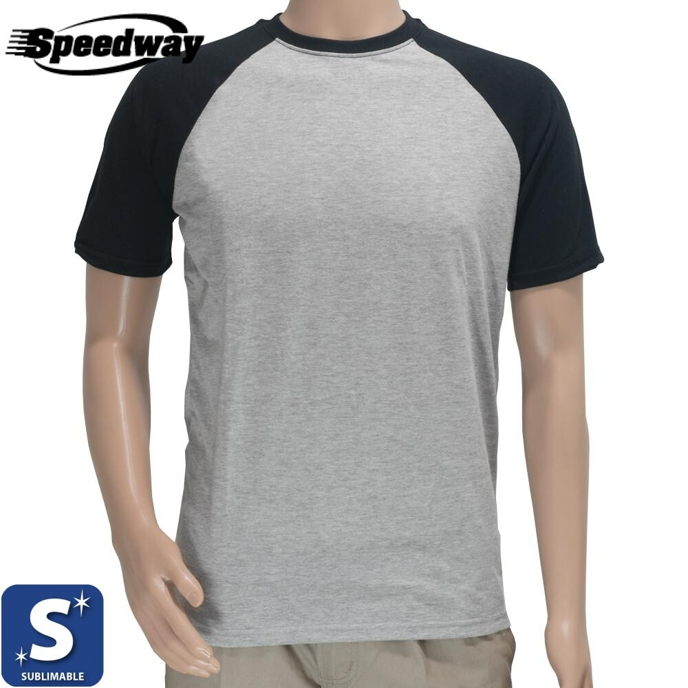 Camiseta Subliprint Gris Combinada