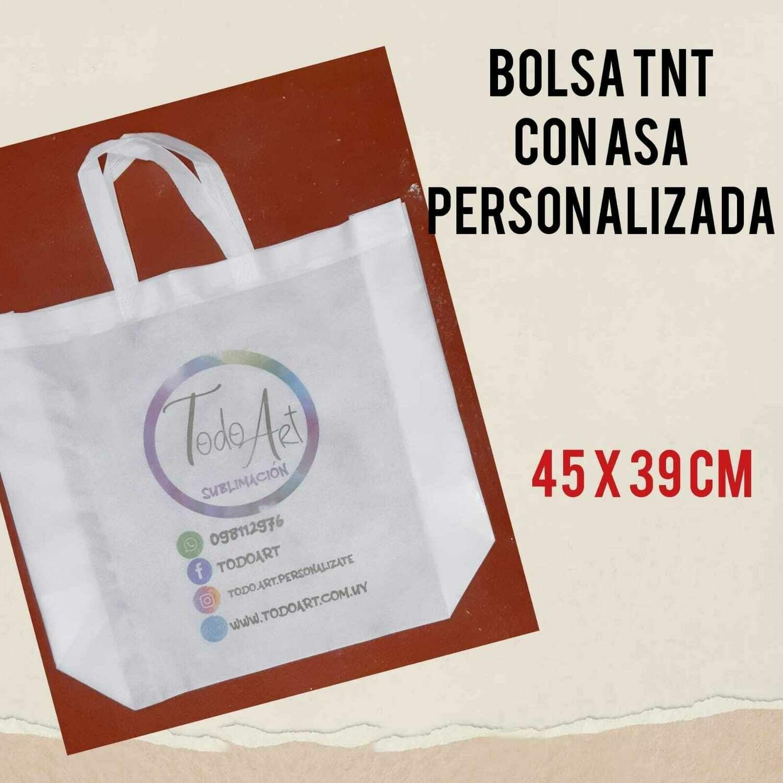Bolsa TNT Grande C/Asa 45x39cm