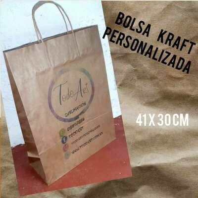 Bolsa Kraft 41x30cm