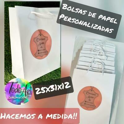 Bolsa De Papel 25x31x12