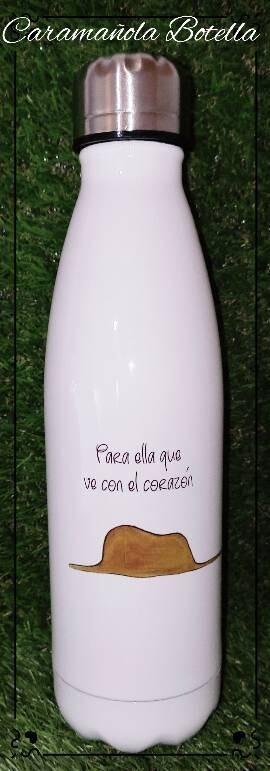 Botella caramañola