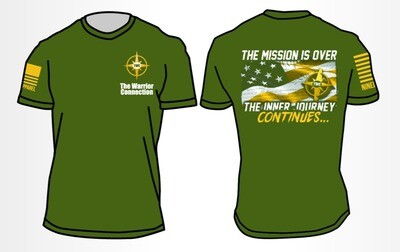 """""""The Journey Continues..."""" T-Shirt"""