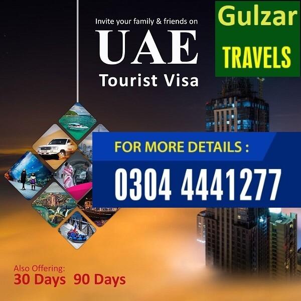 Dubai Tourist Visa 90 Days