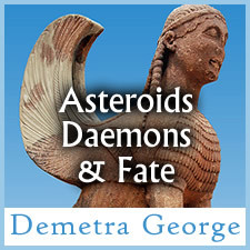 Asteroids, Daimons and Fate