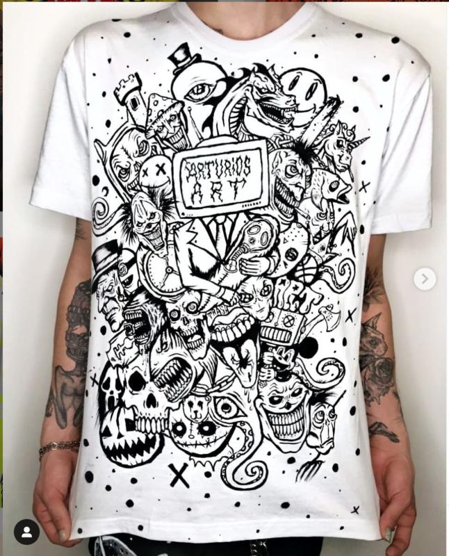 Art TV Arturios-Art | White T-shirt