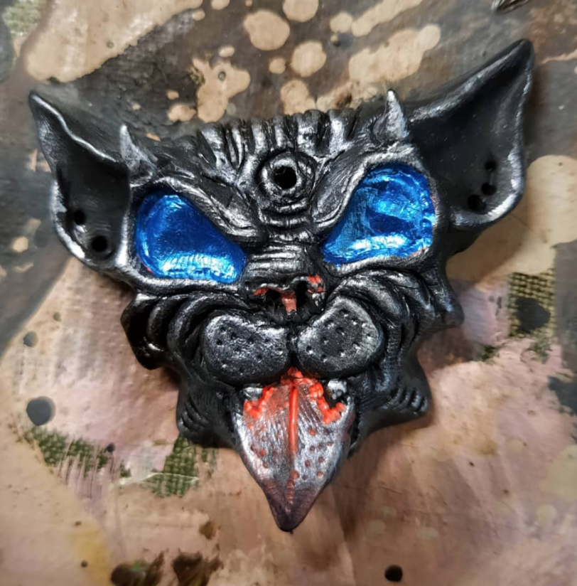 Stone Devil Cat