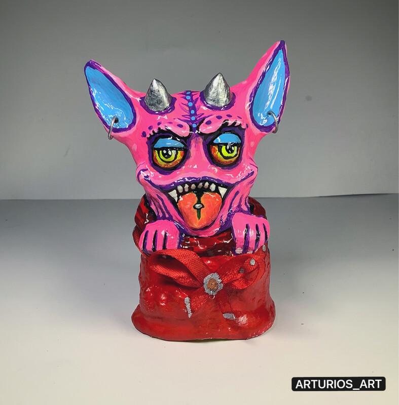 Handmade souvenir figurine