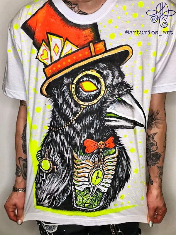Angry raven | T-shirt L