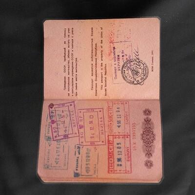 Soviet Union passport