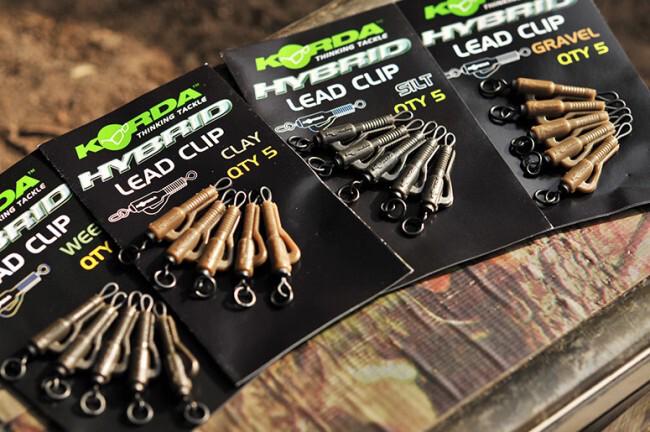 KORDA Hybrid Lead Clip Clay