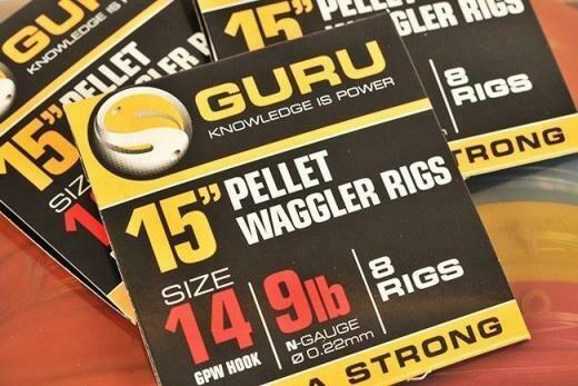 """GURU 15"""" Pellet Waggler Rigs GPW size 14"""