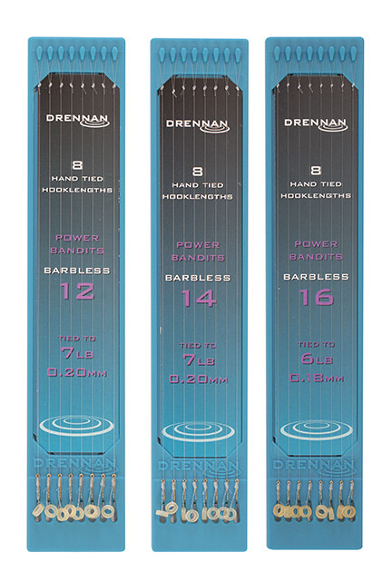 Drennan Power Bandit Rigs Size 16 to 6lb (0.18mm)