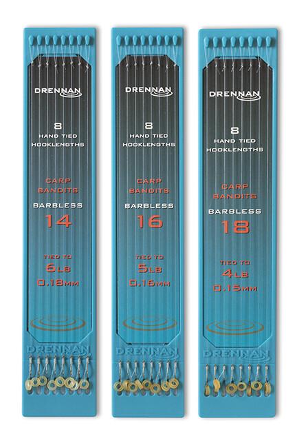Drennan Carp Bandit rigs Size 14 to 6lb (0.18mm)