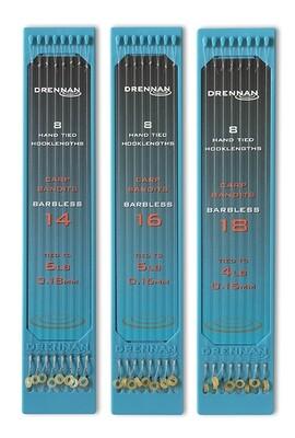 Drennan Carp Bandit rigs Size 16 to 5lb (0.16mm)