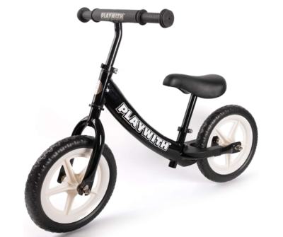 PLAYWITH Balance Bike toddlerbike Kid Bike for Girl boy 18month,2,3,4,5,Year Old Push Bikes for Toddle no Pedal Scooter Bicycle with footrest