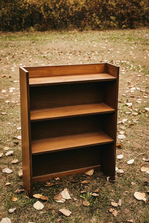 Wooden Bookcase Shelf