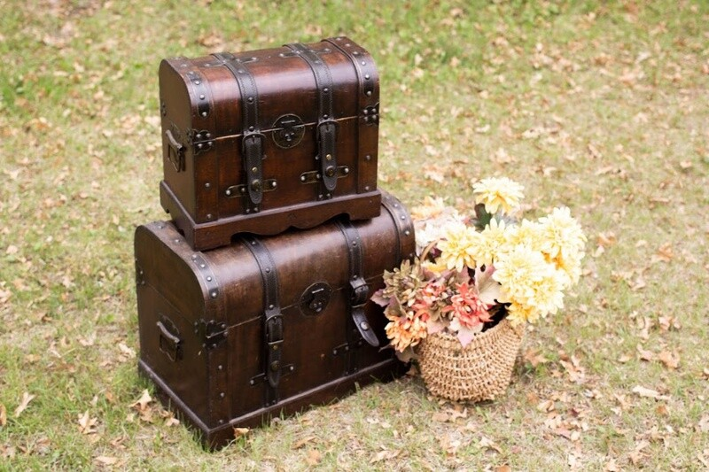 Small Wooden Chests