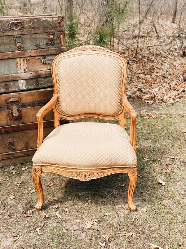 Gold Cushion Chairs