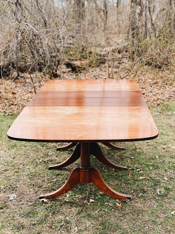 Wooden Expandable Table