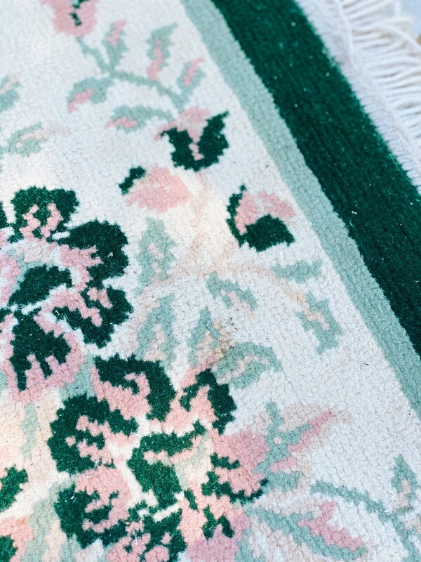 Green and Pink Rug