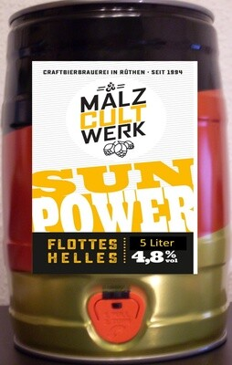 5 LITER PARTYDOSE SUN POWER