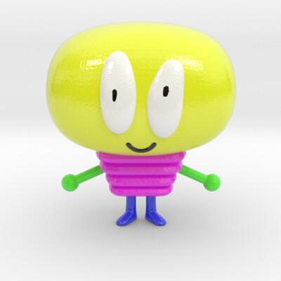 Melón 3000 - Figura 3D