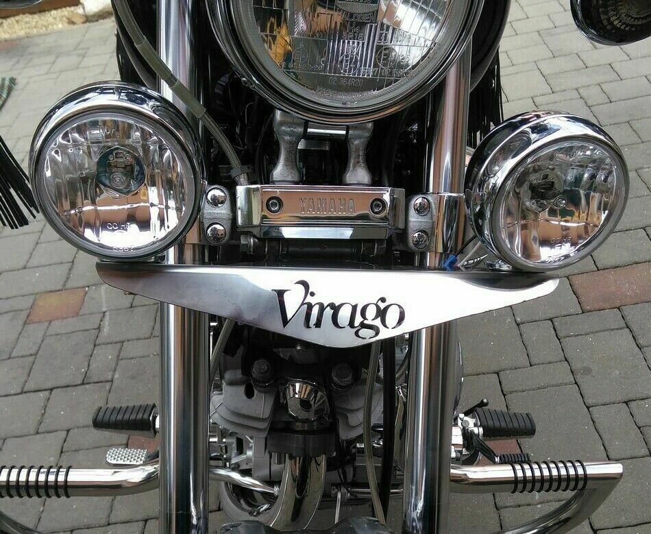LIGHT BAR RAMP + LIGHTS Yamaha XV700 / 750 / 1000 / 1100 Virago