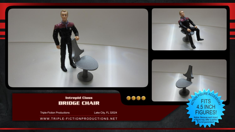 "Intrepid Class - 4.5"" Scale - Bridge Chair"