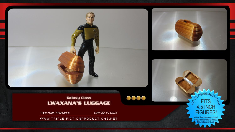 "Galaxy Class - 4.5"" Scale - Lwaxana's Luggage (Clearance Item)"