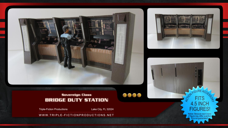 "Sovereign Class - 4.5"" Scale - Bridge Duty Station"