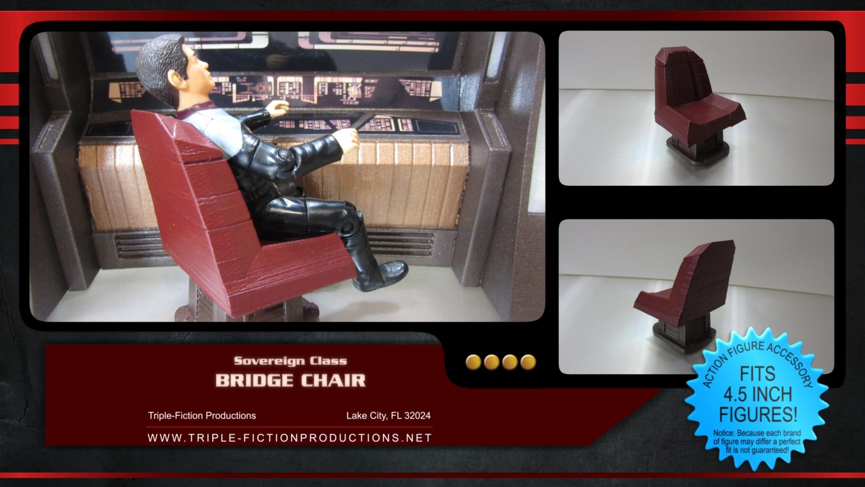 "Sovereign Class - 4.5"" Scale - Bridge Chair"