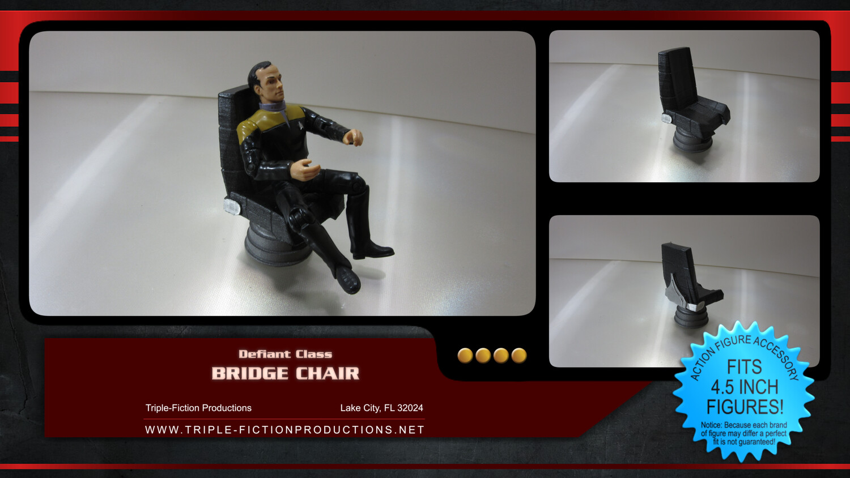 """Defiant Class - 4.5"""" Scale - Bridge Chair"""