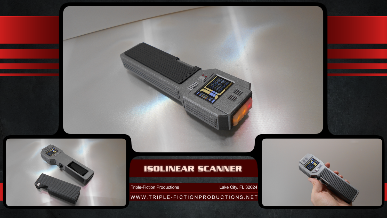 Isolinear Scanner
