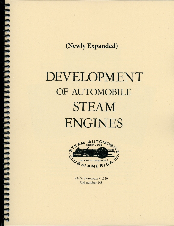 Development of Automobile Steam Engines