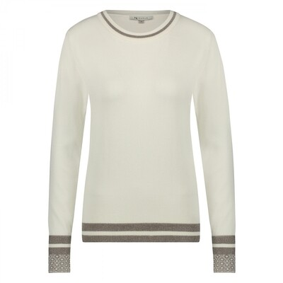 tory sweater off white