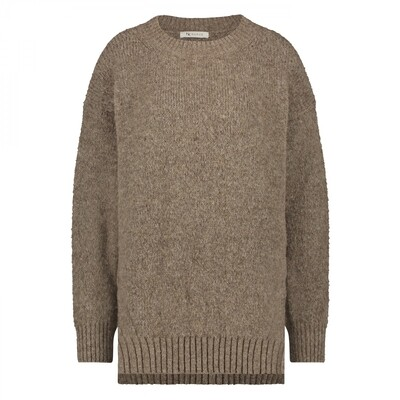 lola sweater taupe