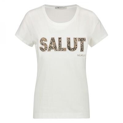 salut shirt off white