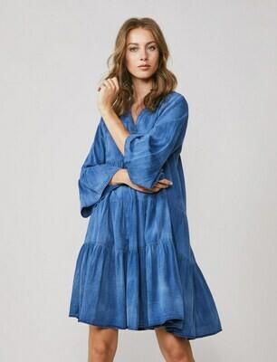 SUMMUM WOMAN   JURK   5s1232 11413 blauw
