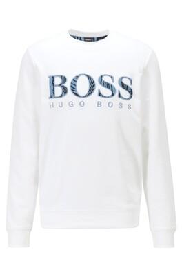 HUGO BOSS | SWEATSHIRT | welogo 50448138 wit