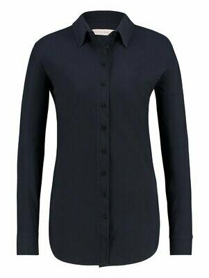 STUDIO ANNELOES | BLOUSE | poppy blouse90960 marine