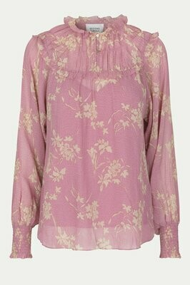 SECOND FEMALE | BLOUSE | mories blouse 54468 pink
