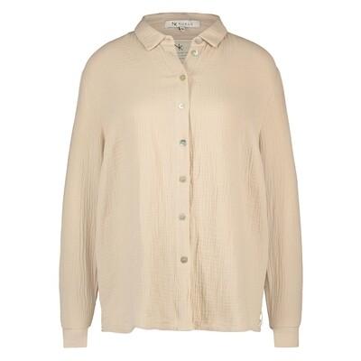 NUKUS | BLOUSE | barbara blouse zand